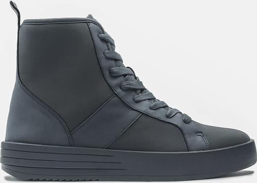 Kazar Granatowe sneakersy męskie