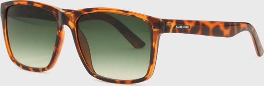 Kazar Studio Brązowe okulary przeciwsłoneczne