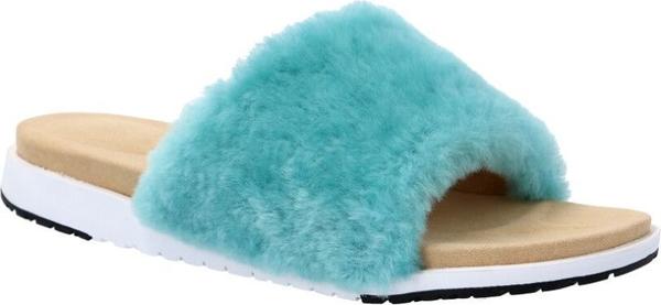 Klapki Emu Australia z płaską podeszwą w stylu casual