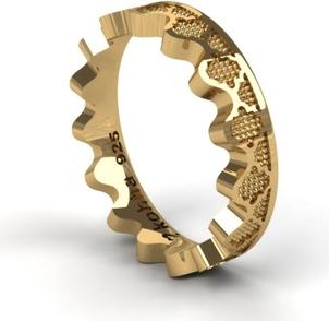 Kohha Obrączka Korona Gold