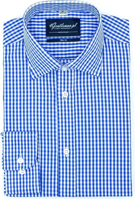 Koszula 4 Gentleman z bawełny z klasycznym kołnierzykiem z