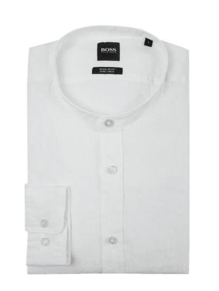 Koszula Boss ze stójką z długim rękawem
