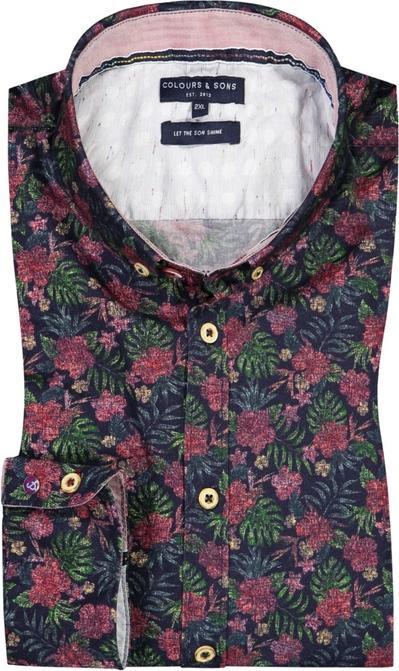 Koszula Colours & Sons z nadrukiem z bawełny