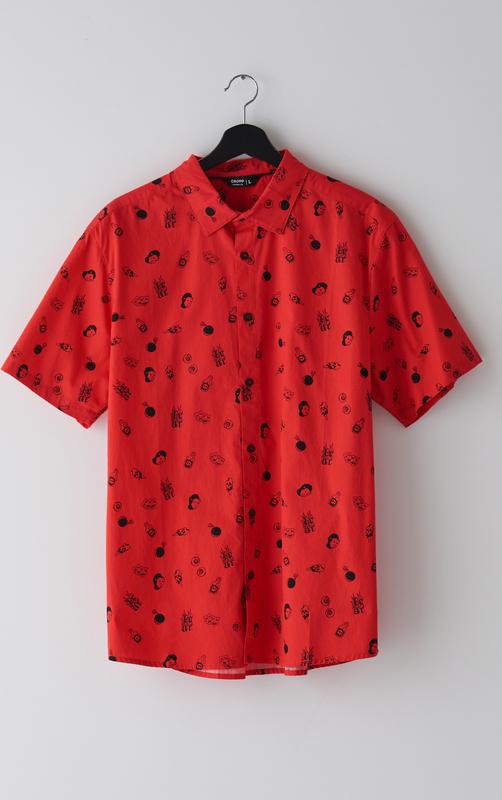 Koszula Cropp z krótkim rękawem