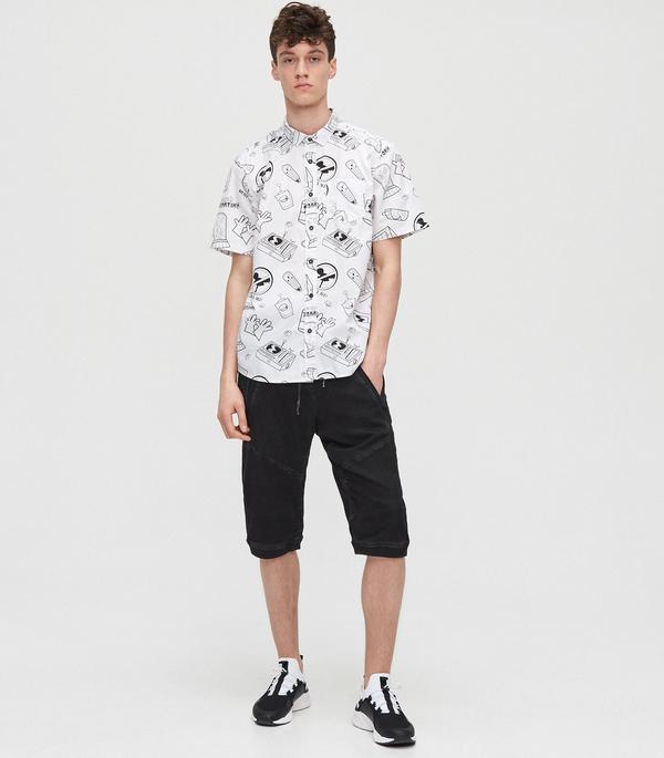 Koszula Cropp z nadrukiem