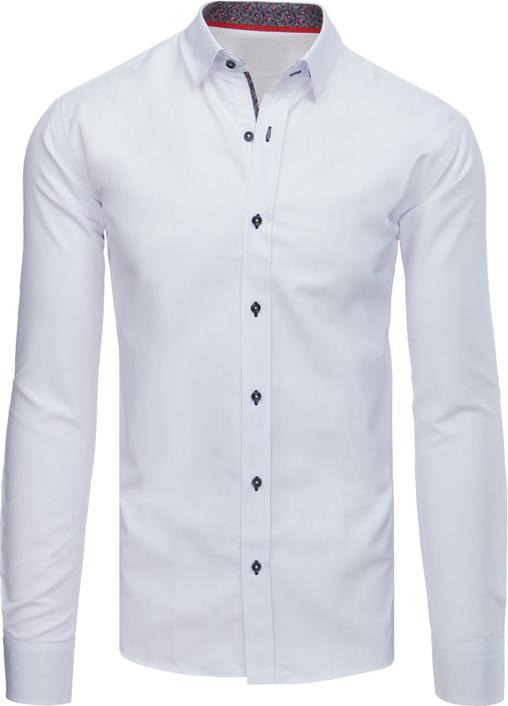 Koszula Dstreet z długim rękawem z bawełny z klasycznym kołnierzykiem