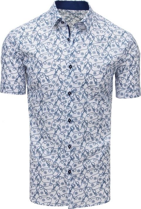 Koszula Dstreet z krótkim rękawem z bawełny