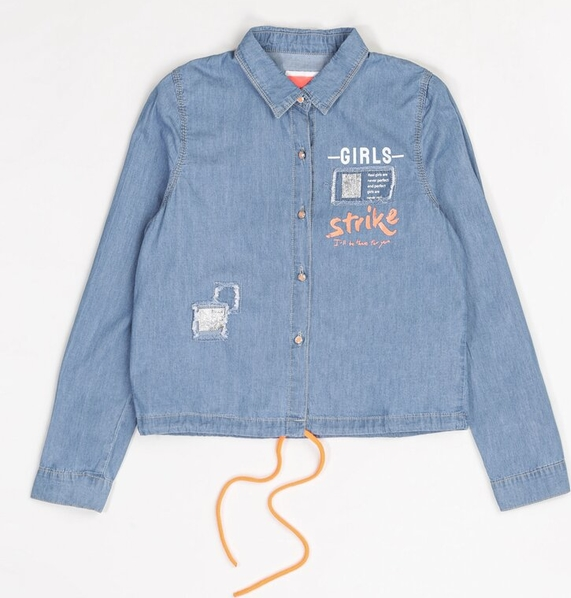 Koszula dziecięca Multu z jeansu