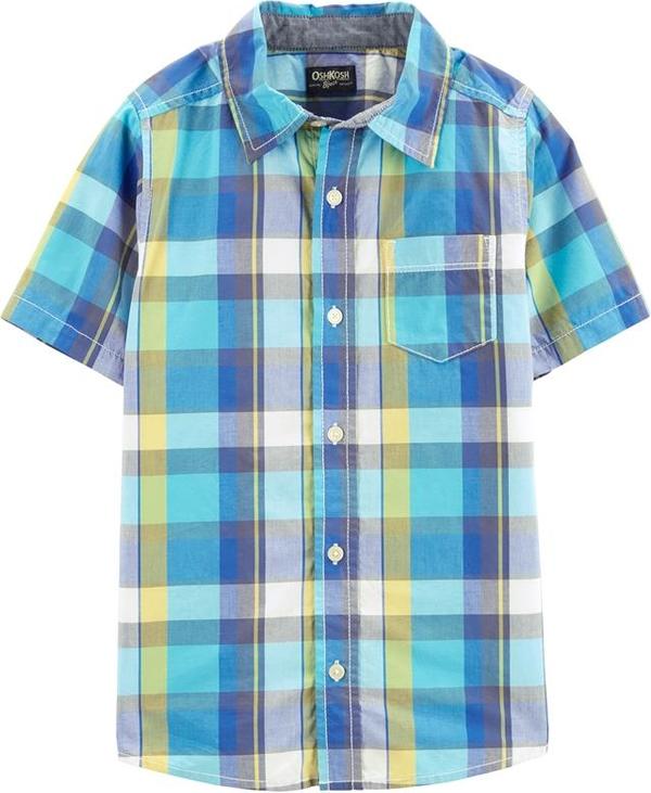 Koszula dziecięca OshKosh w krateczkę