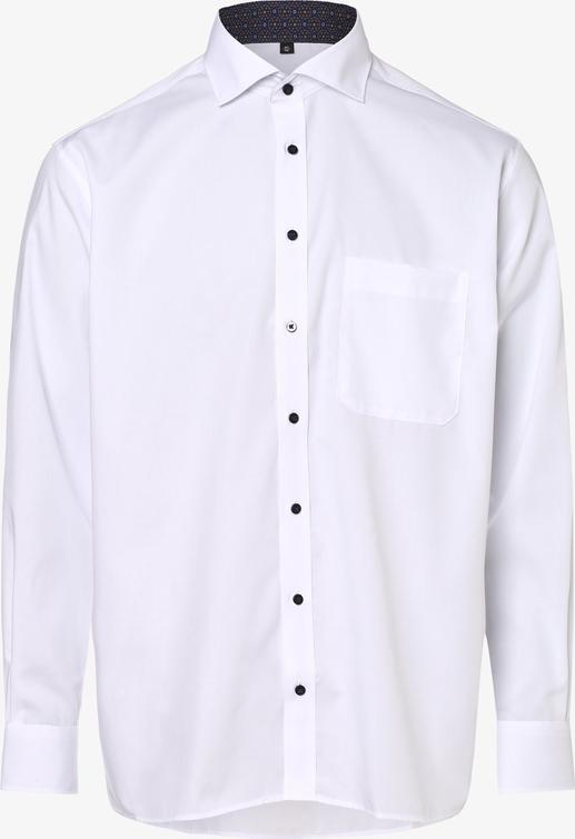 Koszula Eterna z bawełny z długim rękawem