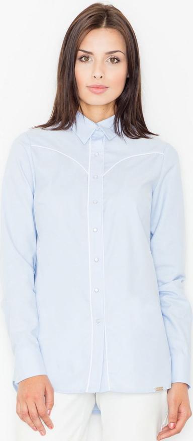 najlepszy Koszula Figl z bawełny z długim rękawem Odzież