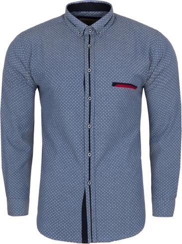 Koszula Formax z bawełny z długim rękawem  hX0Br