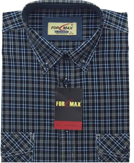 Koszula Formax z klasycznym kołnierzykiem z bawełny