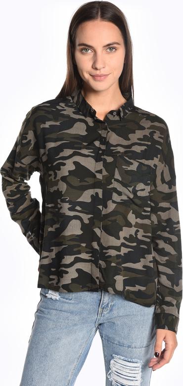 Koszula Gate z kołnierzykiem w stylu casual z długim rękawem