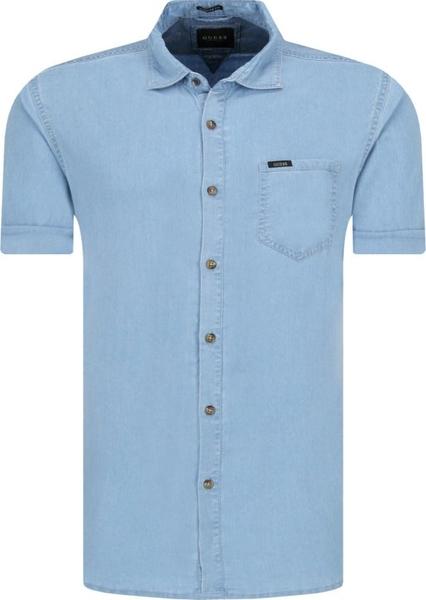 Koszula Guess Jeans z krótkim rękawem