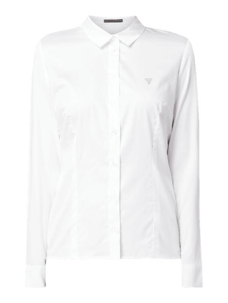 Koszula Guess z bawełny z długim rękawem