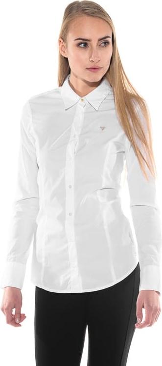 Koszula Guess z kołnierzykiem z długim rękawem