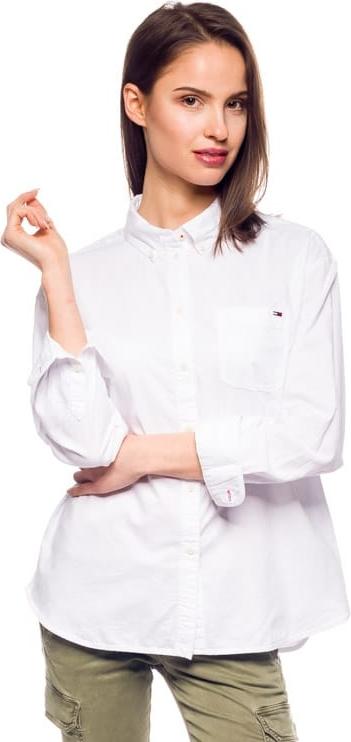Koszula Hilfiger Denim z kołnierzykiem w stylu klasycznym