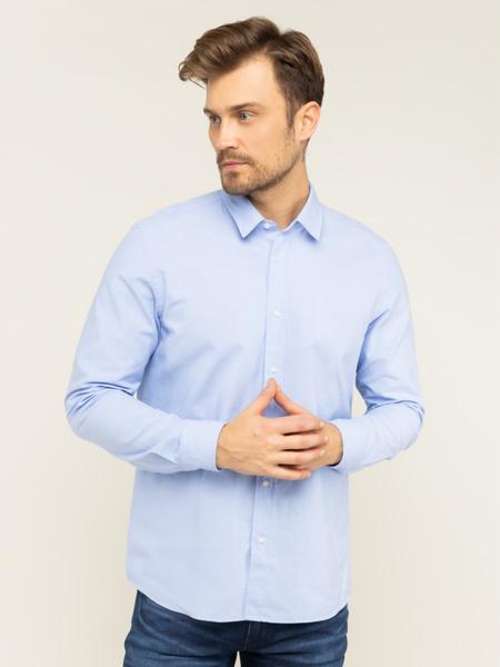 Koszula Hugo Boss z długim rękawem z klasycznym kołnierzykiem
