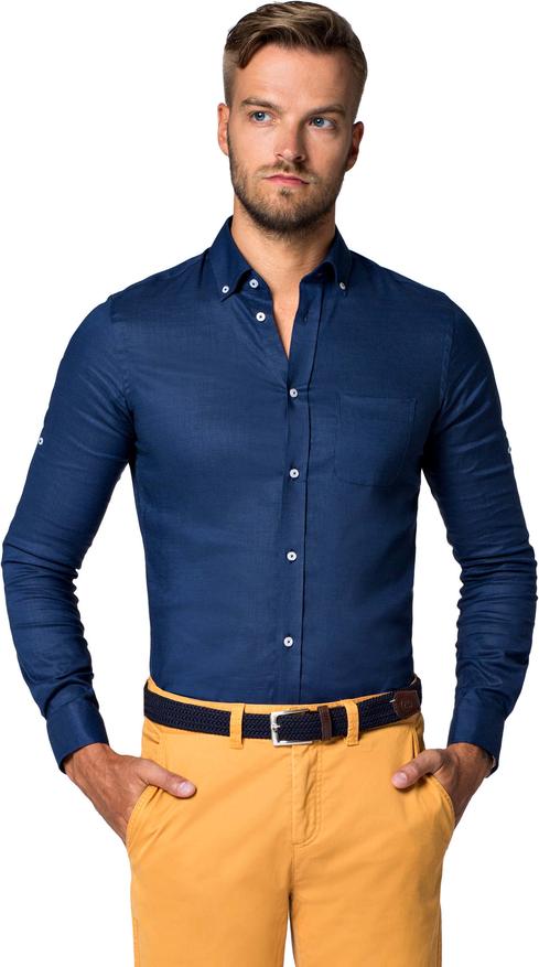 Koszula LANCERTO z długim rękawem