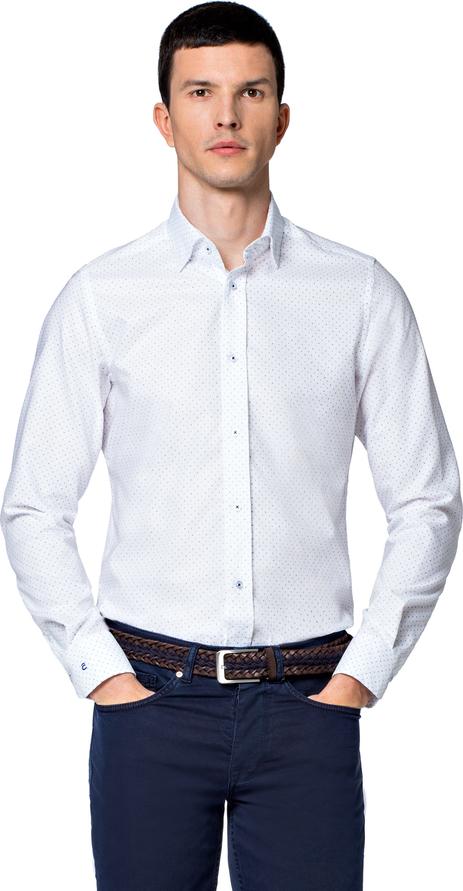 Koszula LANCERTO z klasycznym kołnierzykiem