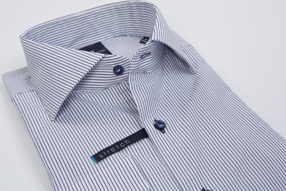 Koszula Lanieri w stylu casual z tkaniny