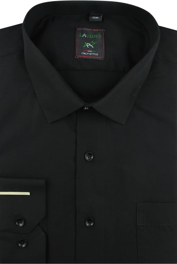 Koszula Laviino z tkaniny z długim rękawem