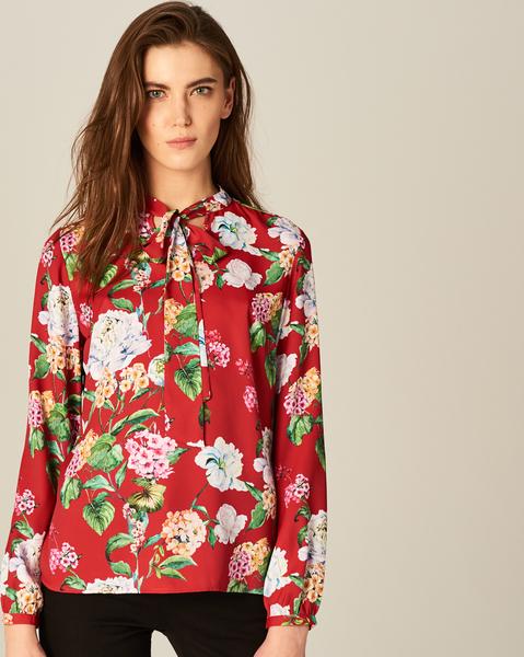 d9bf64c93c Koszula mohito z długim rękawem w kwiaty