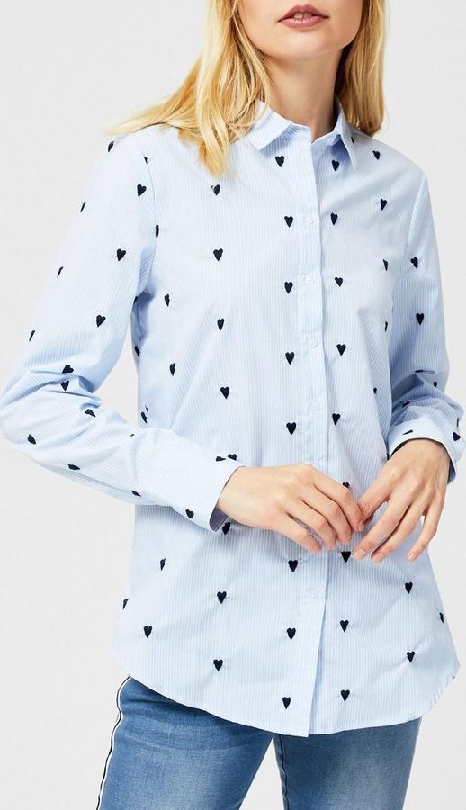 Koszula Moodo z długim rękawem