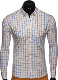 Koszula Ombre Clothing z bawełny