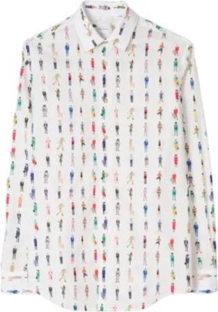 Koszula Paul Smith z długim rękawem w stylu casual