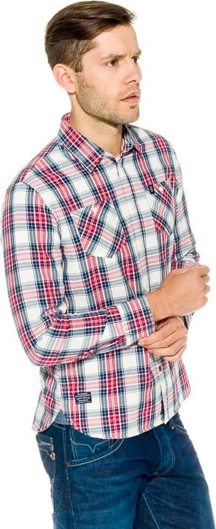 Koszula Pepe Jeans z klasycznym kołnierzykiem