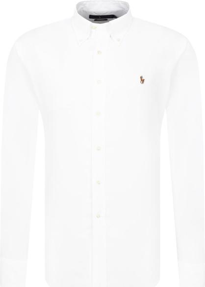 Koszula POLO RALPH LAUREN w stylu casual z bawełny z kołnierzykiem button down