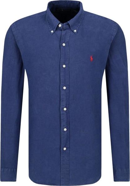 Koszula POLO RALPH LAUREN w stylu casual z lnu