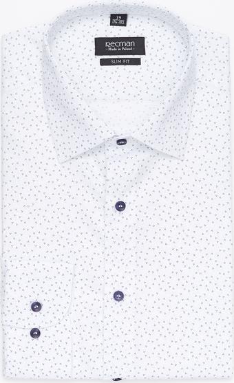 Koszula Recman z długim rękawem z bawełny