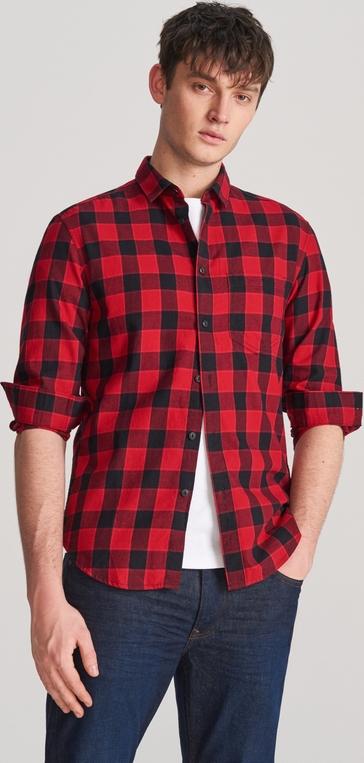 Koszula Reserved z klasycznym kołnierzykiem