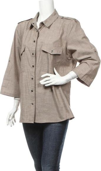 Koszula Rockmans w stylu casual z kołnierzykiem