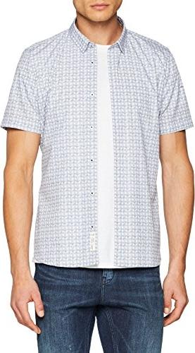 Koszula S.Oliver Black Label z krótkim rękawem w stylu casual