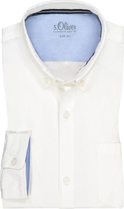 Koszula S.Oliver z klasycznym kołnierzykiem