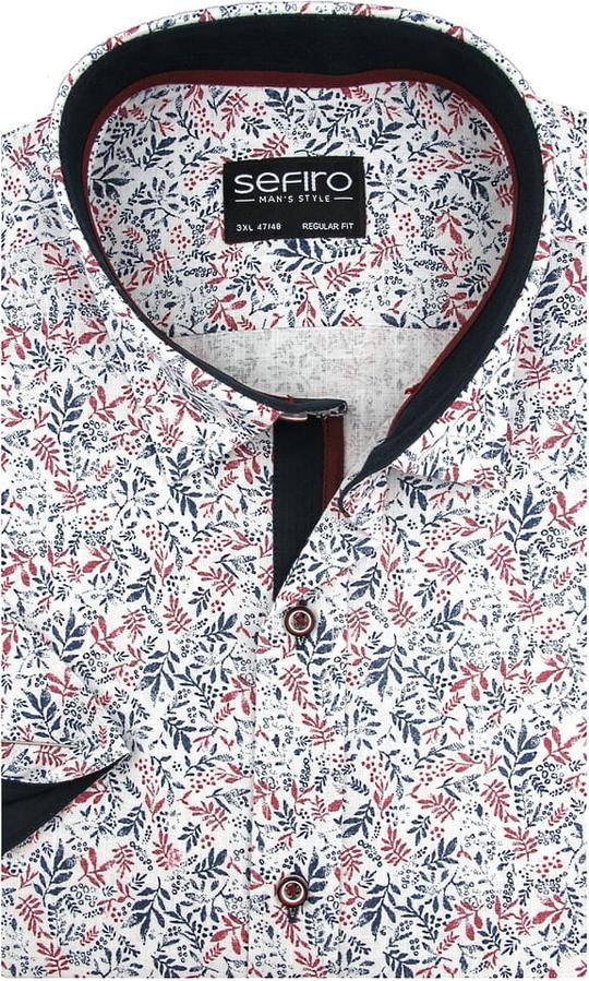 Koszula Sefiro z krótkim rękawem w młodzieżowym stylu