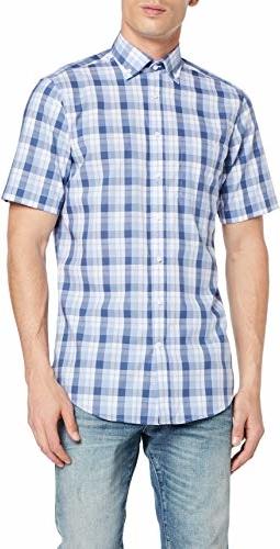 Koszula Seidensticker w stylu casual z jedwabiu