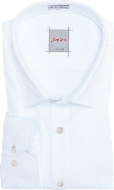 Koszula Signum z bawełny z klasycznym kołnierzykiem w sportowym stylu