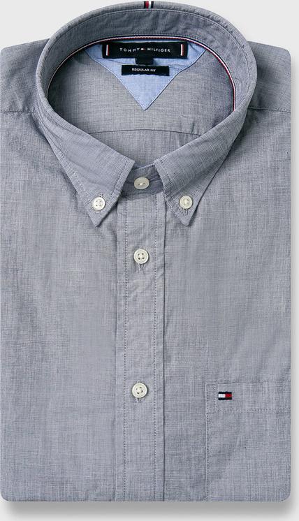 Koszula Tommy Hilfiger z długim rękawem z tkaniny