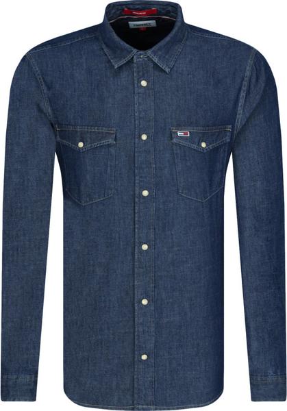 Koszula Tommy Jeans z bawełny