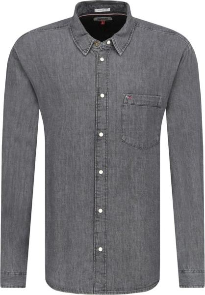Koszula Tommy Jeans z klasycznym kołnierzykiem