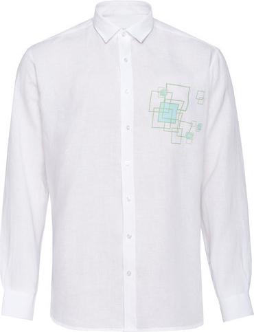 Koszula Veva z długim rękawem z nadrukiem