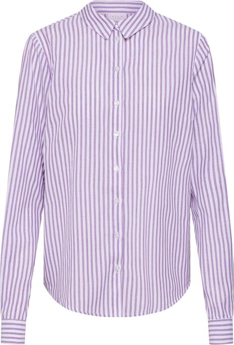 30% OBNIŻONE RÓżowa koszula Vila z długim rękawem z bawełny  uA95m
