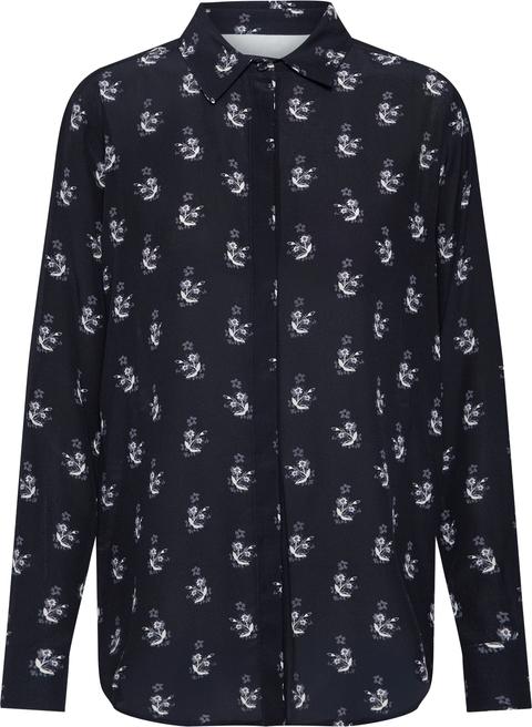 Koszula Weekend Max Mara z długim rękawem w stylu casual z jedwabiu