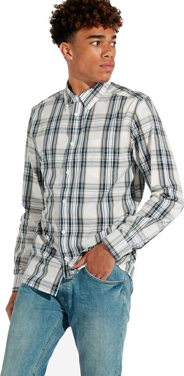 Koszula Wrangler z bawełny z kołnierzykiem button down