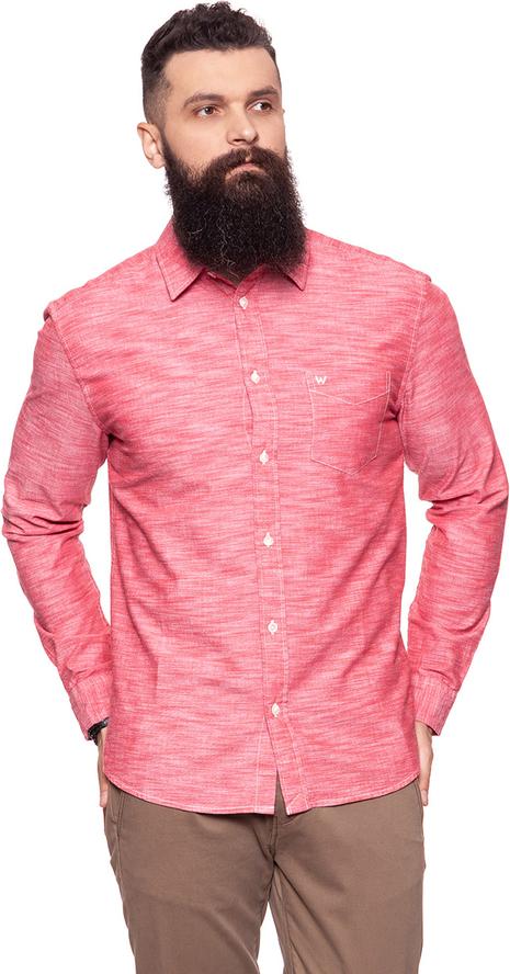 Koszula Wrangler z długim rękawem w stylu casual